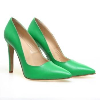Pantofi-dama-piele-naturala-cu-toc-RELEASE-1-cm-Verde