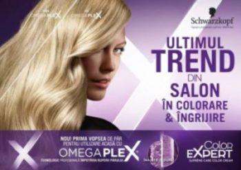 Schwarzkopf aduce cel mai recent trend in colorarea si ingrijirea parului din salon la tine acasa, prin noua gama Color Expert cu OMEGAPLEX®