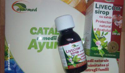 Livecom Sirop sau cum sa iti protejezi ficatul in mod sanatos si eficient