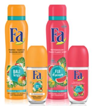 FA ISLAND VIBES, noua gama cu produse fructate si arome exotice de vara