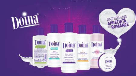Farmec dezvolta brandul Doina cu noi ambalaje si il extinde cu un nou produs
