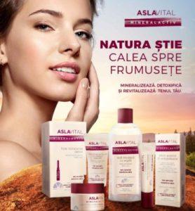 Farmec dezvolta Aslavital, un brand unic pe piata locala, prin modernizarea gamei Aslavital Mineralactiv