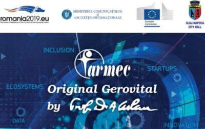 Farmec e partener la cele doua evenimente europene desfasurate in Cluj-Napoca