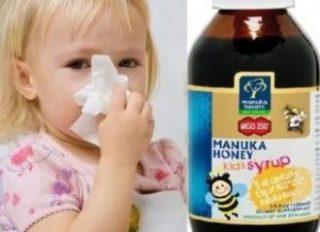 Apicole pentru copii. Siropul cu Miere de Manuka MGO 250+, gustul delicios al copilariei!