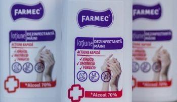 Farmec a demarat productia de biocide