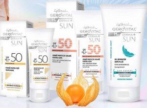 Experta in soare cu Gerovital H3 Derma+ SUN