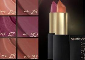 Farmec adauga nuante noi de rujuri cu acid hialuronic in gama Gerovital Beauty