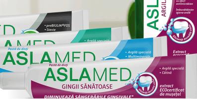 Farmec modernizeaza gama AslaMed si lanseaza un nou produs